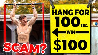 Is The Hang For 100 Seconds, Win $100 Challenge a SCAM? (and how to beat it)