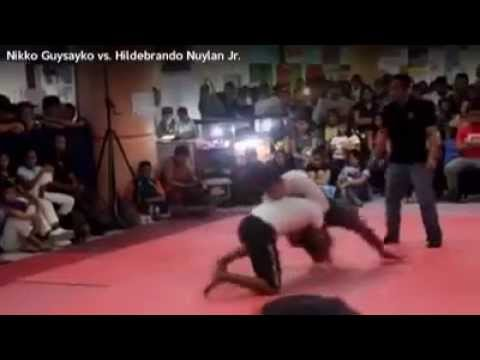 AIKIDO Vs. JIU-JITSU (Real Fight) OUCH!!