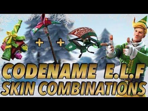 The Best Fortnite Code Name Elf Combo
