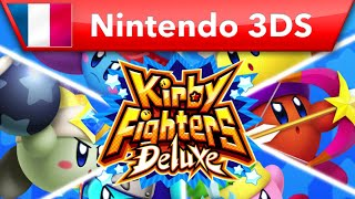 Kirby Fighters Deluxe (Nintendo 3DS)