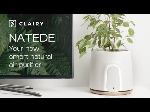 .NATEDE 智慧淨化器來了,可以養植物還能自動澆水
