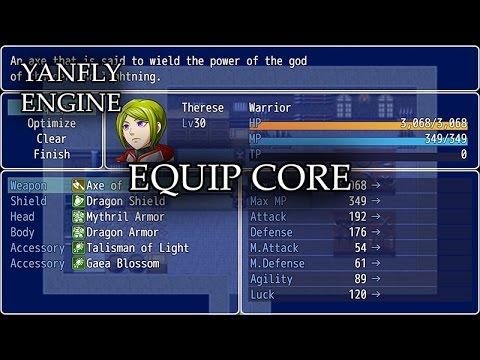 YEP 10 - Equip Core - RPG Maker MV