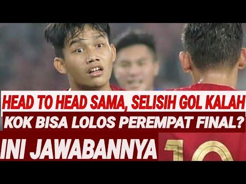 KALAH SELISIH GOL, KOK TIMNAS U19 BISA LOLOS?INI JAWABANNYA;INDONESIA U19 VS UEA 1-0;PEREMPAT FINAL;