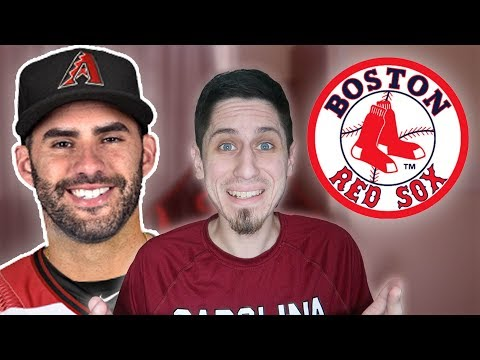 JD MARTINEZ SIGNS WITH THE BOSTON RED SOX REACTION