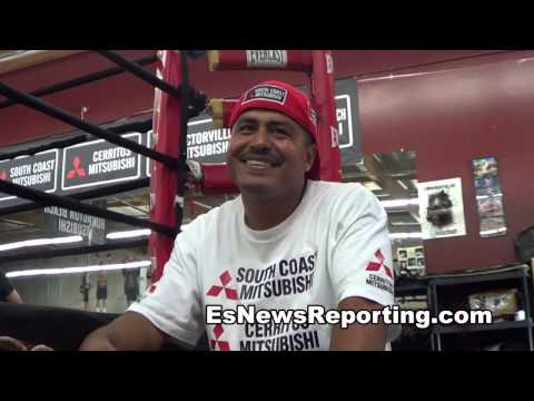 robert garcia on floyd mayweather maidana EsNews