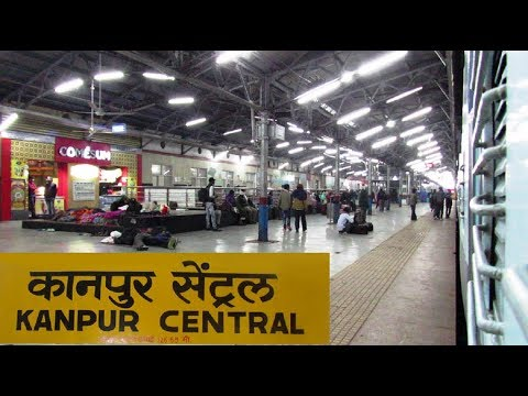 KANPUR CENTRAL Arrival & Departure | 12403 ALLAHABAD - JAIPUR SF Express !!