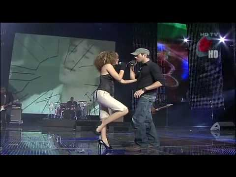 HDHQ Enrique Iglesias &Laura Jane Taking Back My Love Premios Telehit 2009 720p HD
