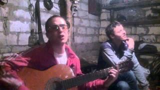 Александр муфтахов (ашот грузин) сев кав тв стайл фристайл кавер на песню Noize MC из окна