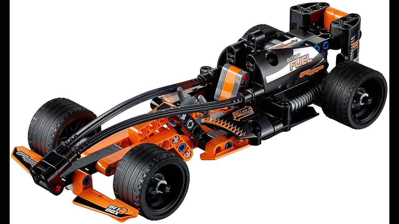 lego technic coche de carreras color negro juguetes para nios