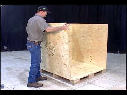 How To Disassemble Take Apart A You Crate 174 Shipping Crate