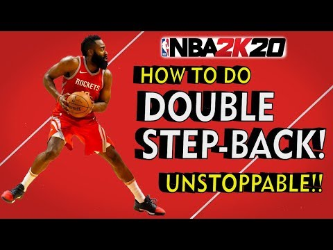 NBA 2K20 HOW TO DO JAMES HARDEN DOUBLE STEPBACK! (IS IT A TRAVEL??) | UNSTOPPABLE!!!!