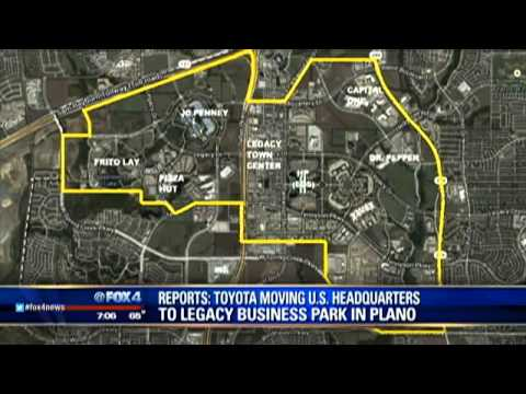 Toyota moving to Plano