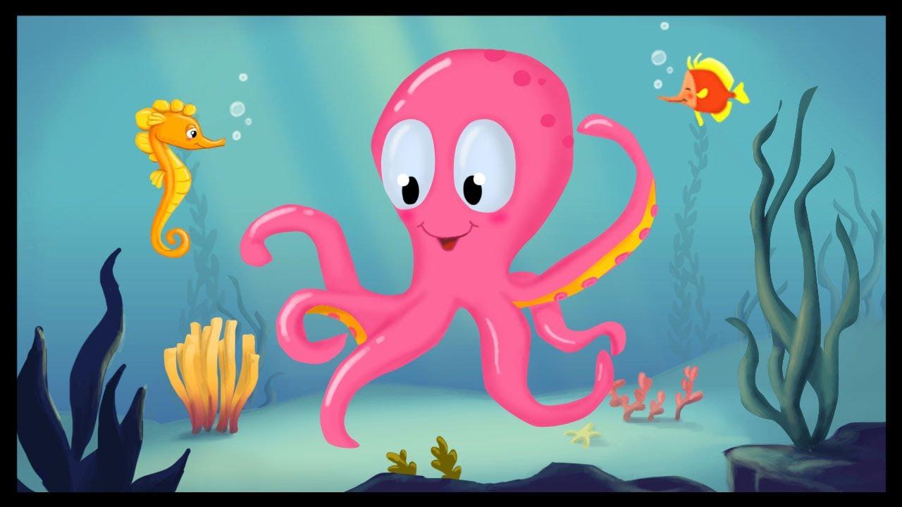 Apprendre les animaux aquatiques en français - YouTube