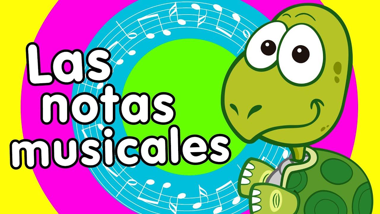 Dibujos De Notas Musicales Para Nios