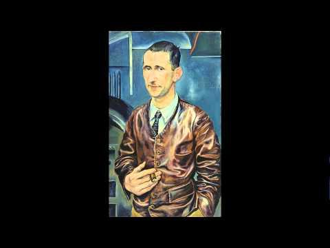 Rudolf Schlichter, Bildnis Bert Brecht, 1928