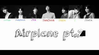 Bts  방탄소년단  - Airplane Pt.2  Color Coded Lyrics   Rom/eng