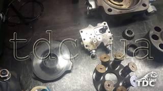Ремонт гидронасоса экскаватора-погрузчика Komatsu WB93S-5