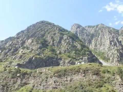 Traveling to Georgia throught Caucasian Mountains!