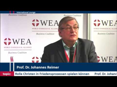 Congress of Christian Leaders: Prof. Dr. Johannes Reimer