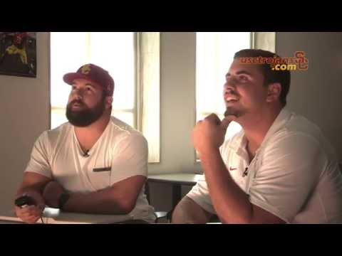 USC Football - Generations - Ryan Kalil and Max Tuerk