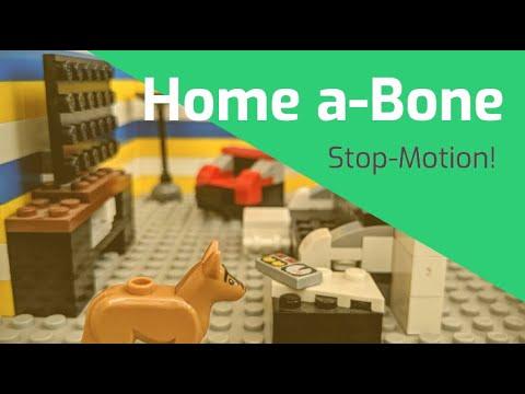Home a-Bone (Lego stop-motion)