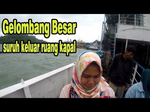 para penumpang disuruh keluar kapal ! selat sunda | Bakauheni - Merak #selatsunda #krakatau