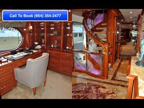 Party Girl Yacht | Yacht Charter South Florida (954) 354-2477