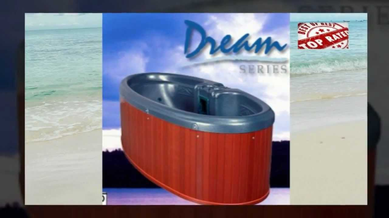 Dream Star 2 Person Hot Tub QCA Spas - YouTube
