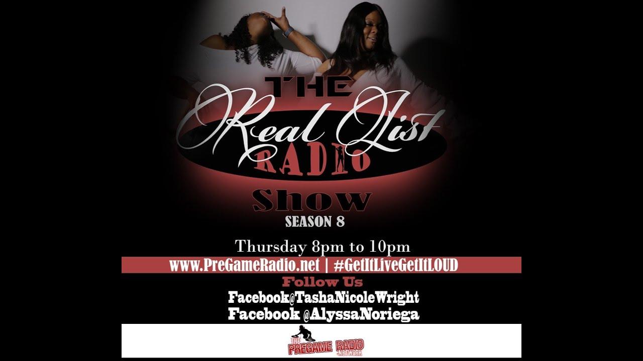 The Real List Radio Show with Tasha Nicole Wright & Alyssa Noriega | Season 8 Finale