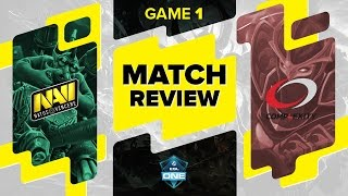 Match review: Na`Vi vs compLexity Gaming – Game 1 @ ESL One Frankfurt 2016