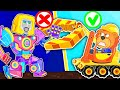 Lion Family 🍒 Iron Robot #16. Superhero Transformers. Rescue Rangers   Cartoon for Kids