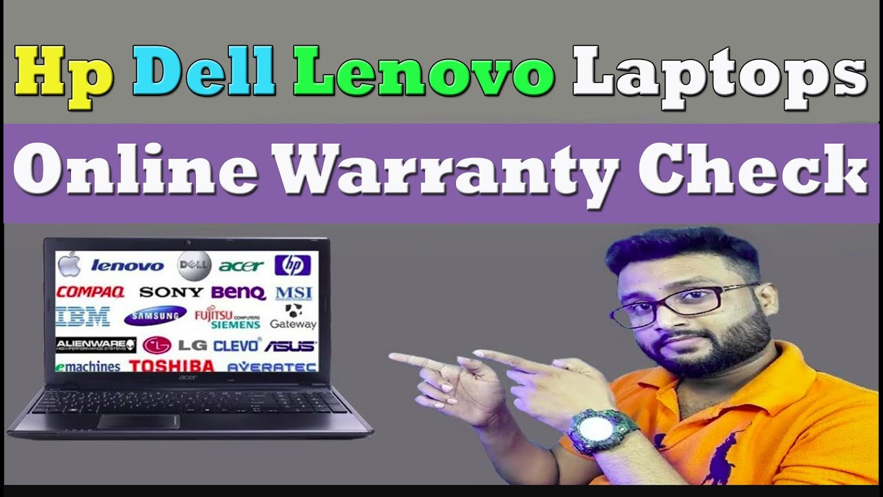 How To Check Any Laptop Warranty Online | Check Dell Lenovo Hp Laptop  Warranty | By Tech Group |