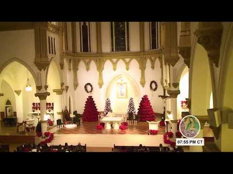 Christmas Eve Mass with Bishop Edward Burns from the Dallas Cathedral