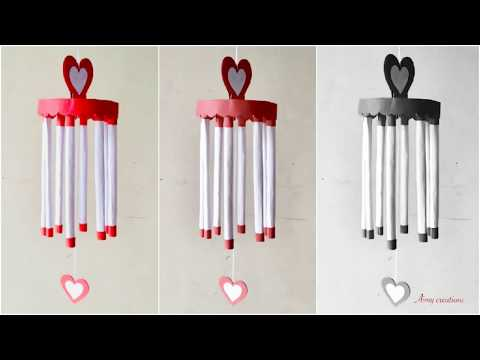Wind chime craft idea / paper wind chime / Aimy creations