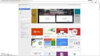 hoe apps of extenties zoeken en installeren