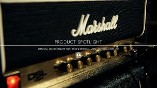 Product Spotlight - Marshall DSL 15H 15 Watt Tube Guitar Amp Head & Marshall 2x12 Vertical Slant Cab