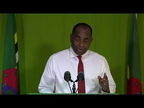 Oct. 30 - Press Briefing: Roosevelt Skerrit - Prime Minister of Dominica