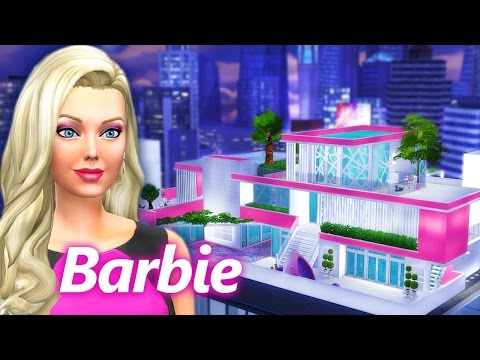 BARBIE DREAM PENTHOUSE  [ The Sims 4 Build ]