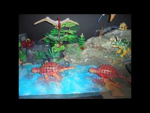 Playmobil en el Museo del Jurásico de Asturias