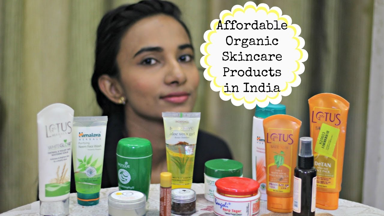 Best cosmetic products for indian skin
