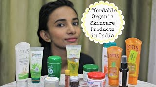 Affordable Organic Skin care Products in India Under Rs. 500 | Indian Skincare Routine For Oily Skin