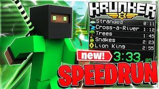 *NEW* Krunker.io Speedrun Map! (RAGE)