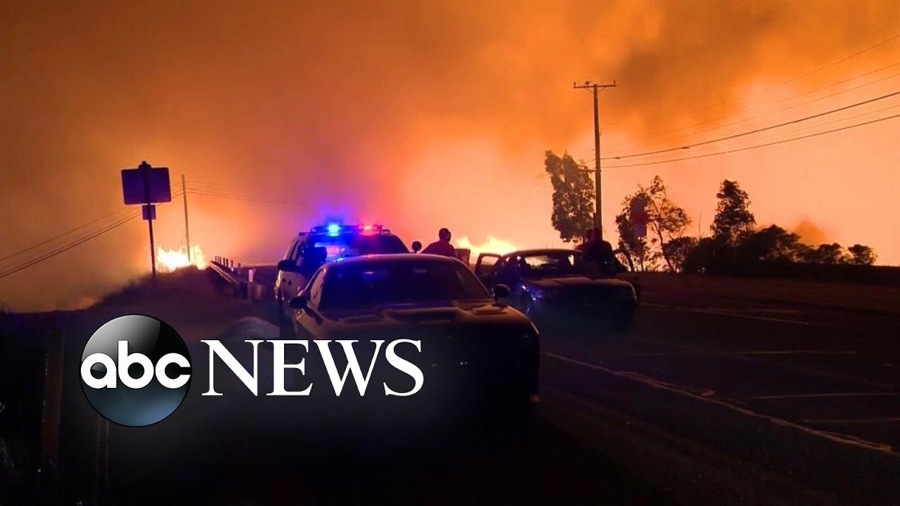 Southern California: A Depiction Of Hell On Earth Death Toll Growing 100's Missing