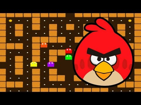 Angry Birds Rio-Man Halloween Like Pac-Man Game Walkthrough High Score
