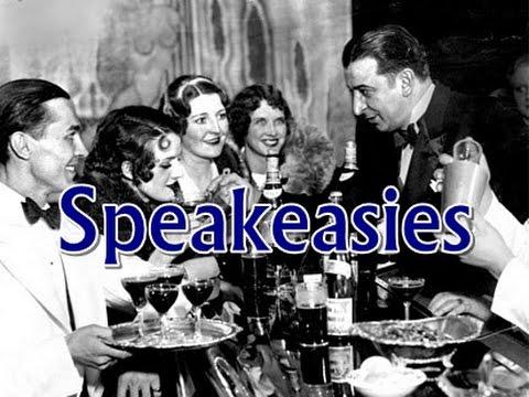 History Brief: Speakeasies