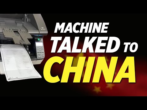 Exclusive: Exam Indicates Georgia Tabulating Machine Sent Results to China