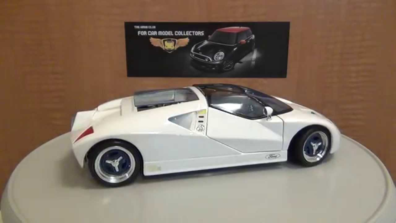 ford gt90 concept 1 18 diecast review youtube. Black Bedroom Furniture Sets. Home Design Ideas