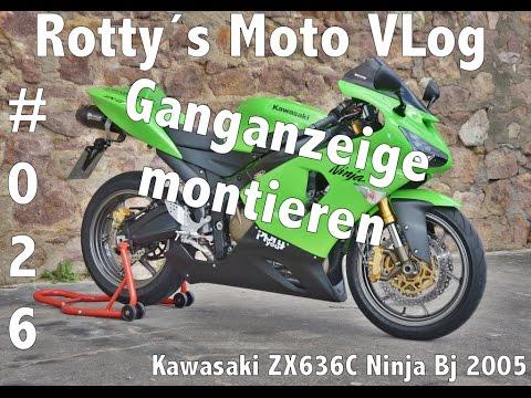 Kawasaki Ninja Zx636c Tutorial 026 Ganganazeige Youtube