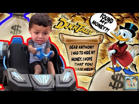 IT WAS ALL A DREAM?! BOY GOES ON DUCKTALES ADVENTURE & FINDS A BIG PRIZE! DINGLE HOPPERZ SKIT!