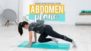 Rutina para abdomen plano | 15 minutos